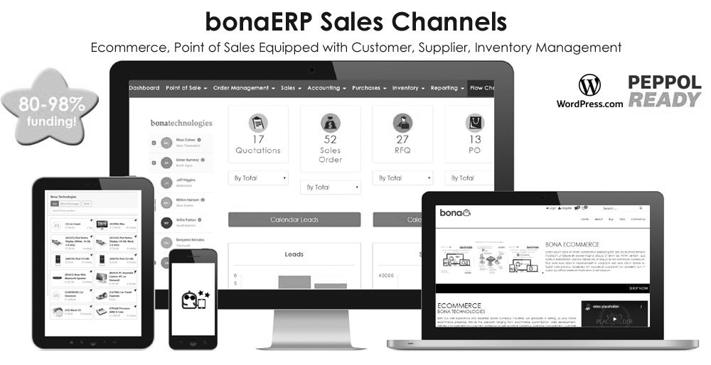 BonaERP Sales Channels