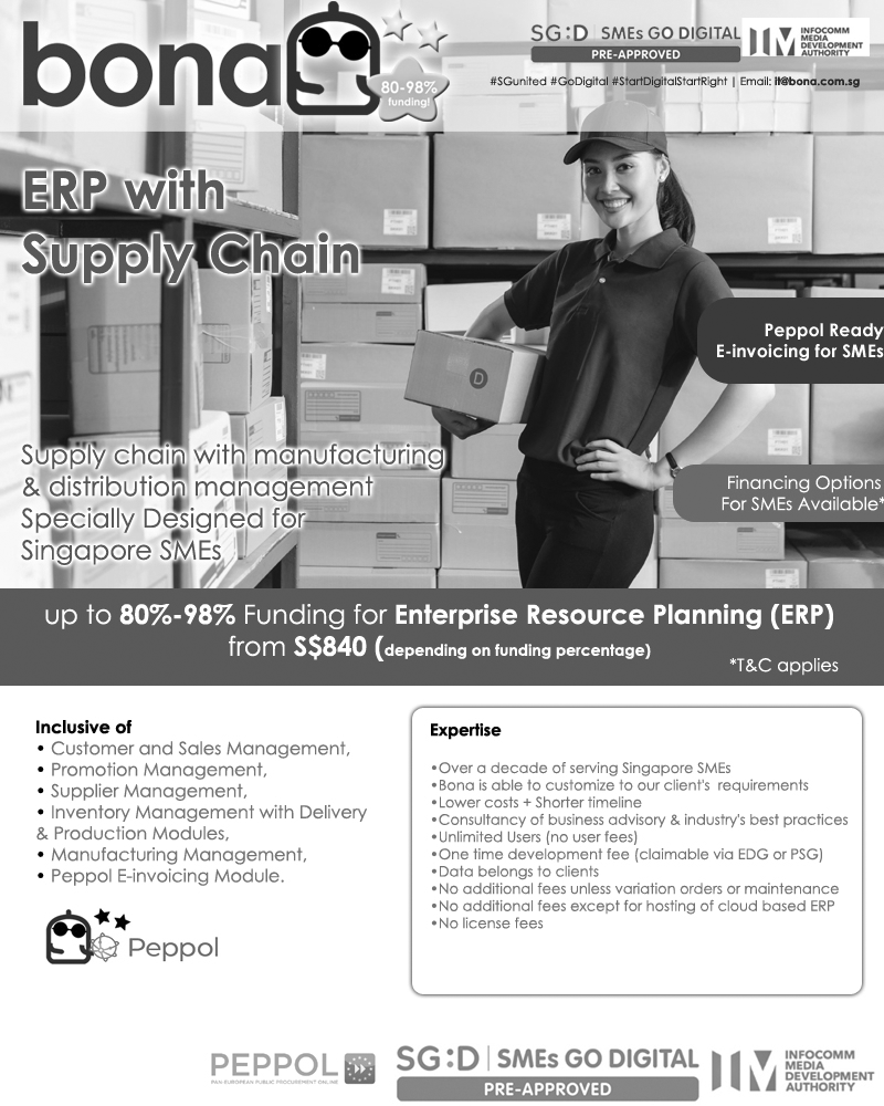 BonaERP Package (E42) for ERP with Supply Chain